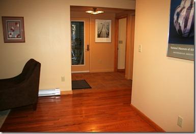 foyer from living room