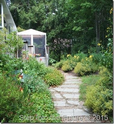 back garden enter
