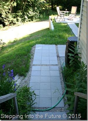 pavers - back walkway