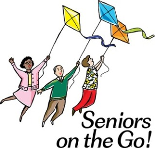 seniors on the go clipart
