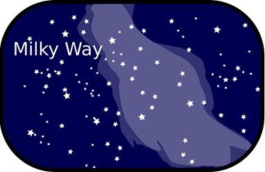 Milky Way Graphic